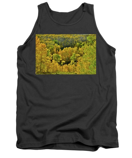 Beautiful Fall Colors At Woods Lake State Wildlife Area Tank Top