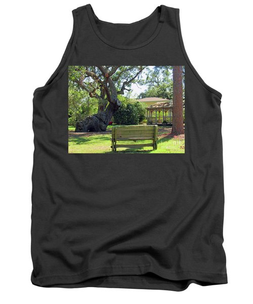Been Here Awhile Tree In Park Tank Top