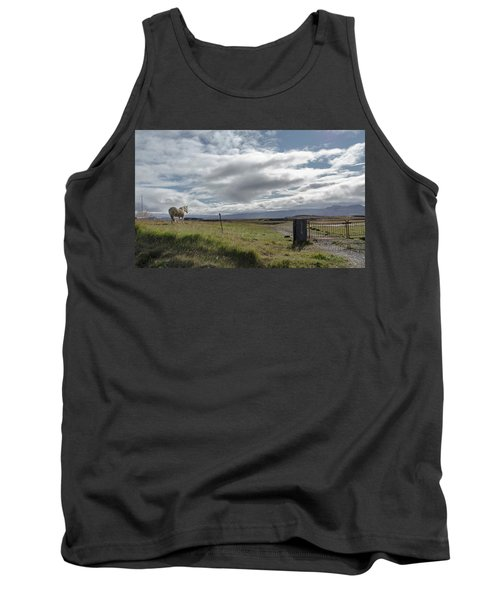 Behold A Pale  Horse Tank Top