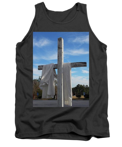 Behold, He Is Coming With The Clouds, Tank Top