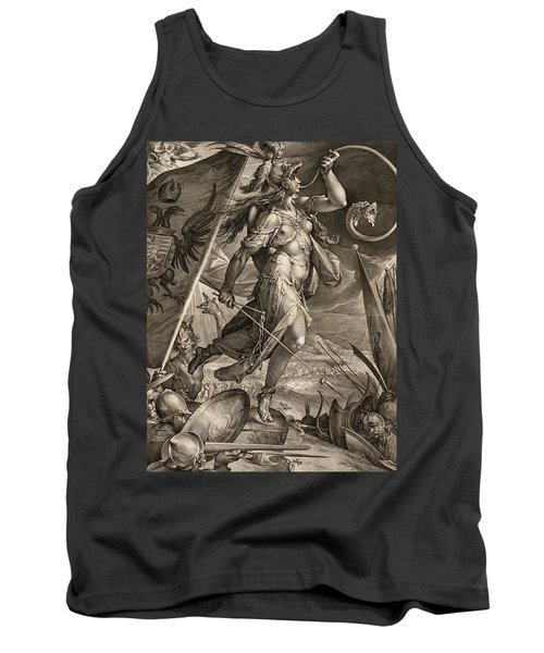Bellona Leading The Armies Of The Emperor Against The Turks, 1600 Tank Top