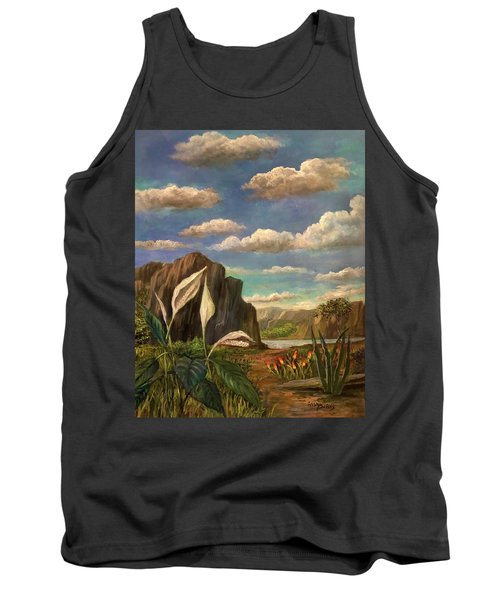Beneath The Clouds Of Africa Tank Top