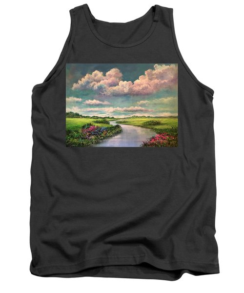 Beneath The Clouds Of Paradise Tank Top