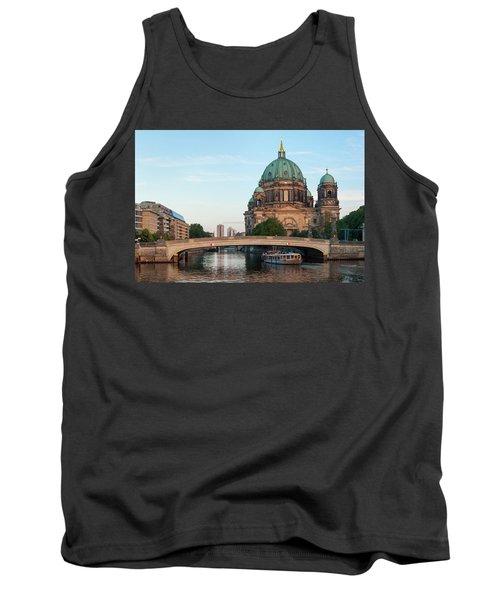 Berliner Dom And River Spree In Berlin Tank Top