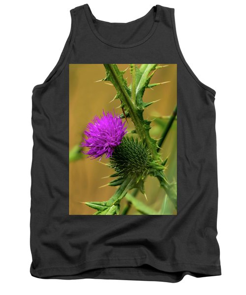 Between The Flower And The Thorn Tank Top