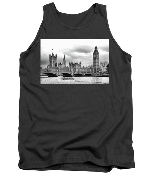 Big Clock In London Tank Top
