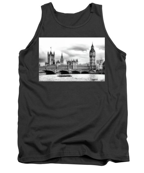Big Clock In London Soft Tank Top
