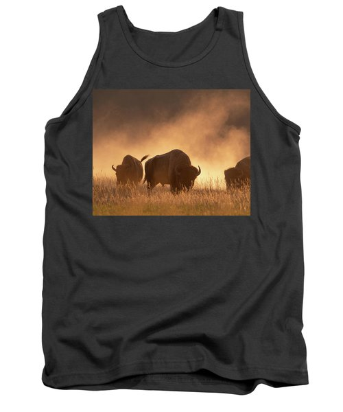 Bison In The Dust Tank Top