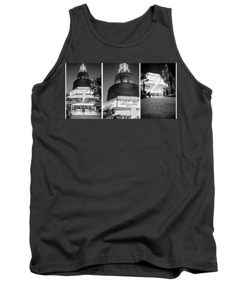 Black And White Triptych- Tank Top