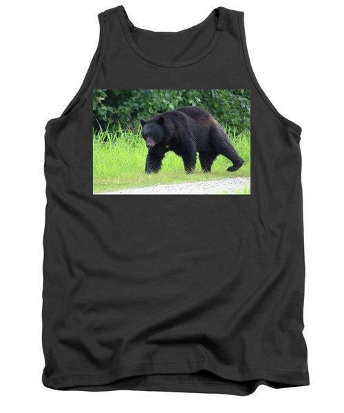 Black Bear Crossing Tank Top