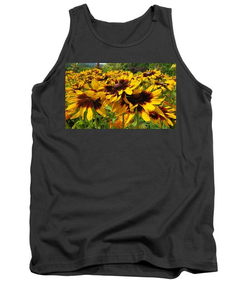 Black-eyed Susan In Your Face Tank Top