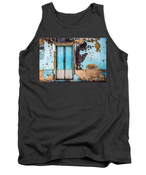 Blue Wall And Door Tank Top