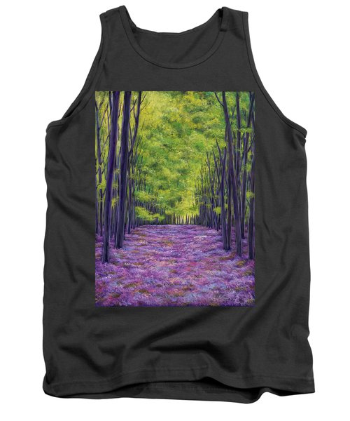 Bluebells And Daydreams Tank Top