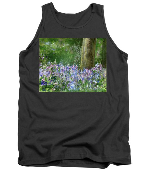 Bluebells Under The Trees Tank Top