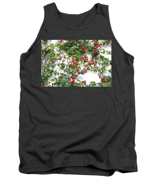 Blushing Blooms Tank Top