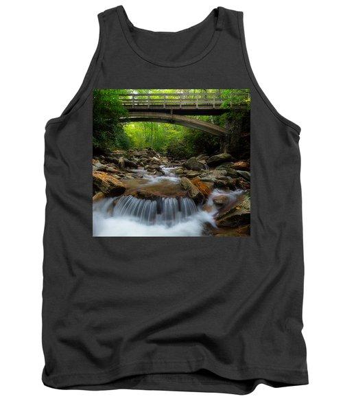 Boone Fork Bridge - Blue Ridge Parkway - North Carolina Tank Top