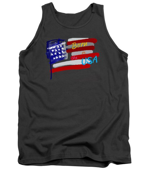 Born In The Usa - T-shirt Tank Top