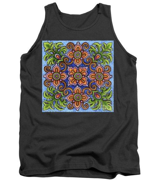 Botanical Mandala 1 Tank Top