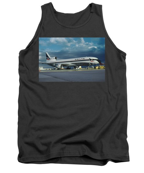 Brand New Delta Airlines L-1011 Tristar Tank Top