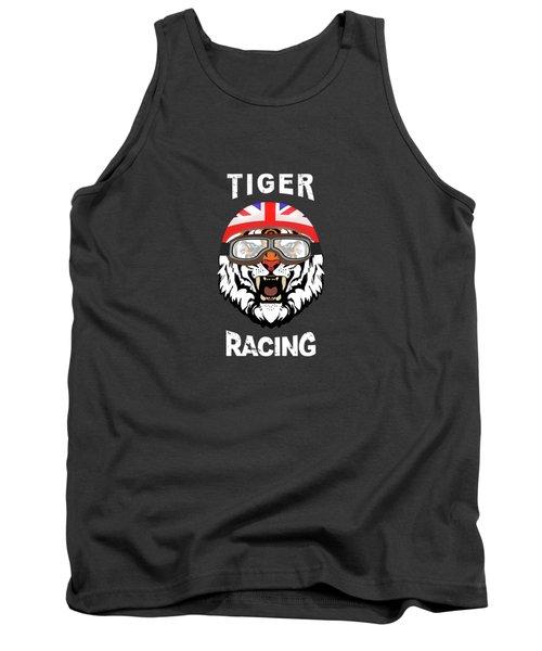 British Tiger Racing Tank Top