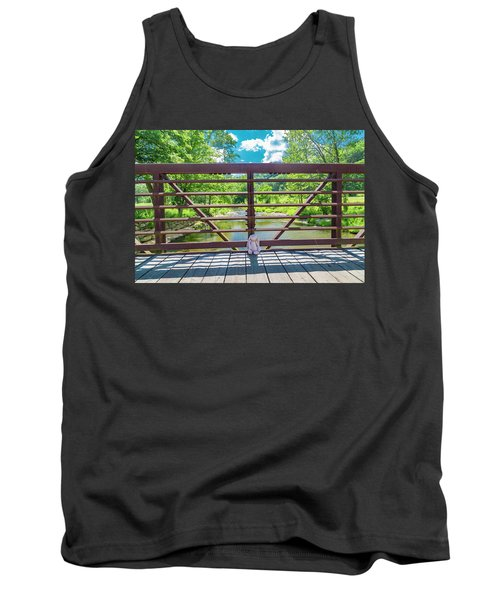 Bunny At The Greenbrier Golf Course West Virginia Tank Top