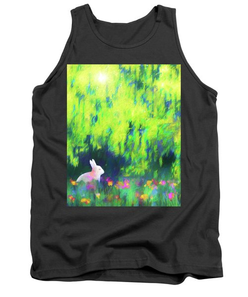 Bunny Beneath The Willow Tree 2 Tank Top