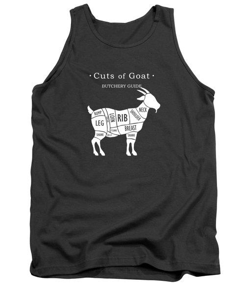 Butchery Guide Cuts Of Goat Tank Top