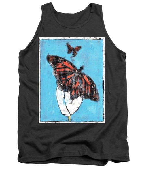 Butterfly Garden Summer 1 Tank Top