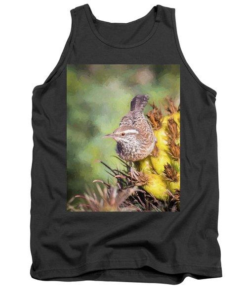 Cactus Wren Tank Top