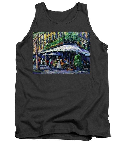 Cafe De Flore Paris Tank Top