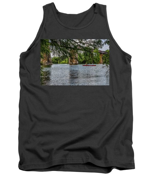 Canoeing Lady Bird Lake Tank Top