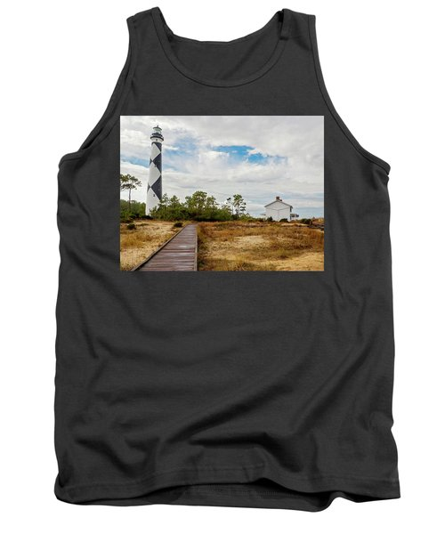 Cape Lookout Lighthouse No. 2 Tank Top