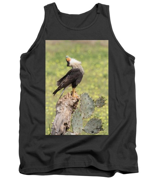 Caracara Head Throw Tank Top