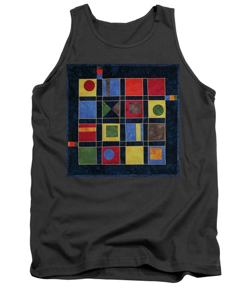 Carnival Of Colors Tank Top
