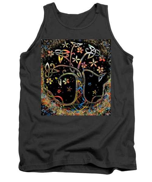 Celtic Tree Of Life Tank Top