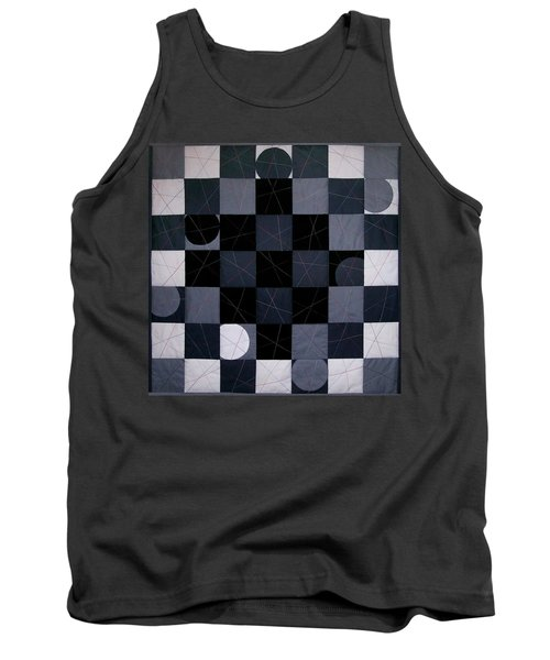 Checkers And Pick-up-sticks Tank Top