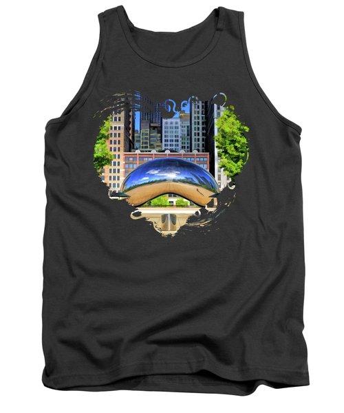 Chicago Cloud Gate Park Tank Top