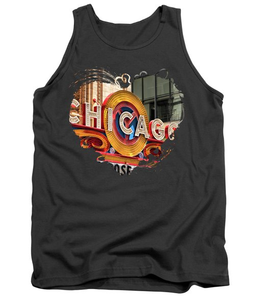 Chicago Theatre Marquee Tank Top