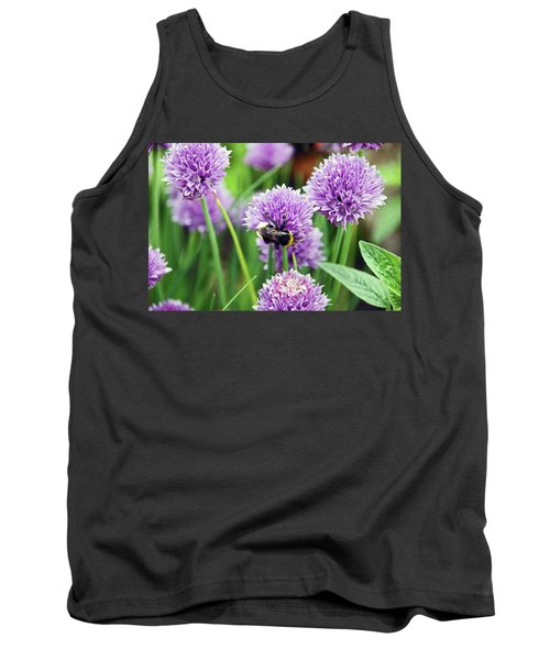 Chorley. Picnic In The Park. Bee In The Chives. Tank Top