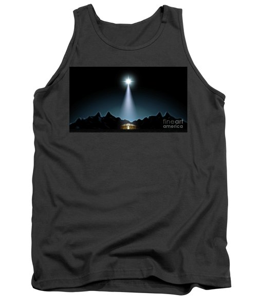 Christ's Birth In A Stable Tank Top