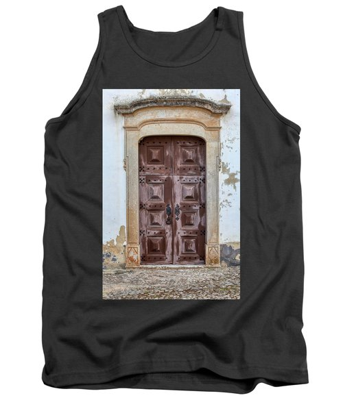 Church Door Of Obidos Tank Top