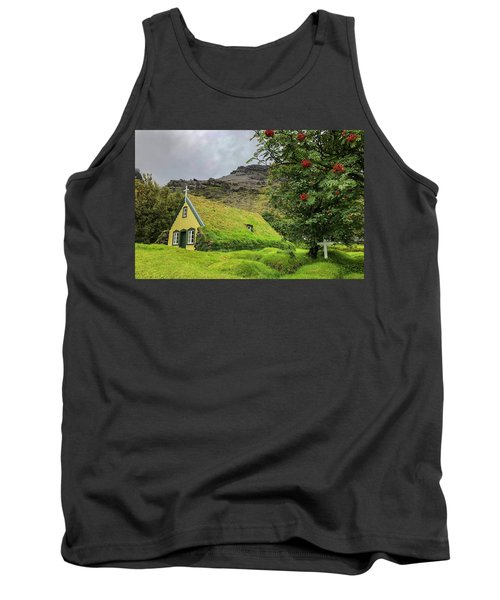 Church Of The Holy Moss Tank Top