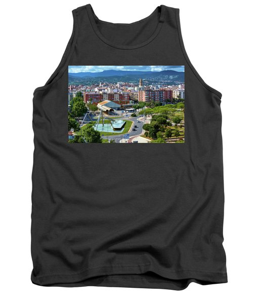 Cityscape In Reus, Spain Tank Top