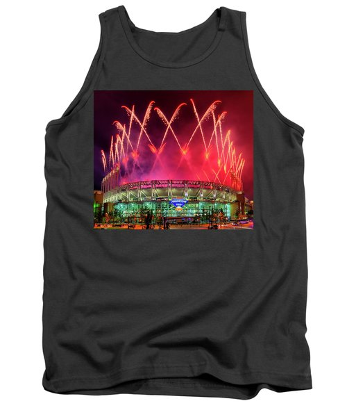 Cleveland Indians Fireworks Tank Top