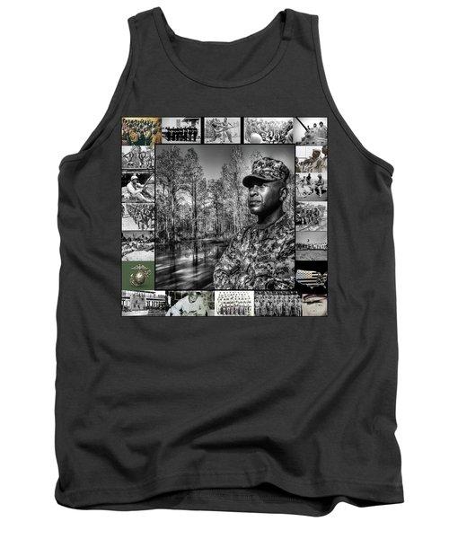 Colonel Trimble Collage Tank Top