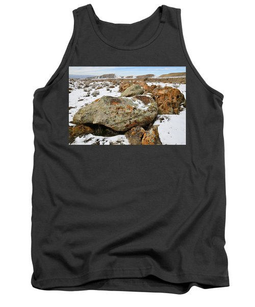 Color In The Book Cliff Desert Tank Top
