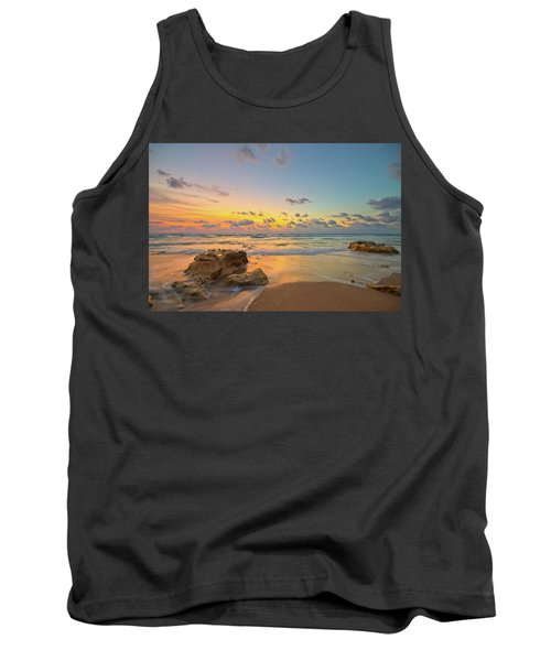 Colorful Seascape Tank Top