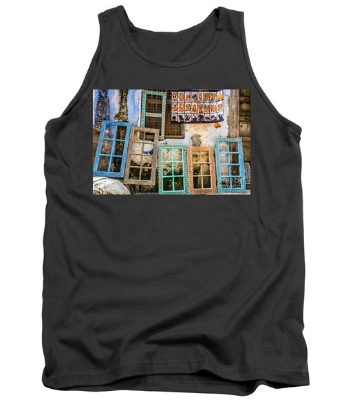 Colorful Window Frames Tank Top