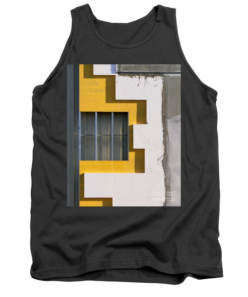 Construction Abstract Tank Top