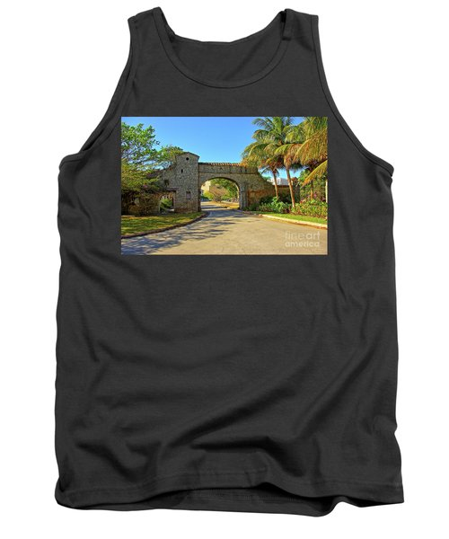 Coral Gables, Alhambra Entrance, South Miami, Florida Tank Top